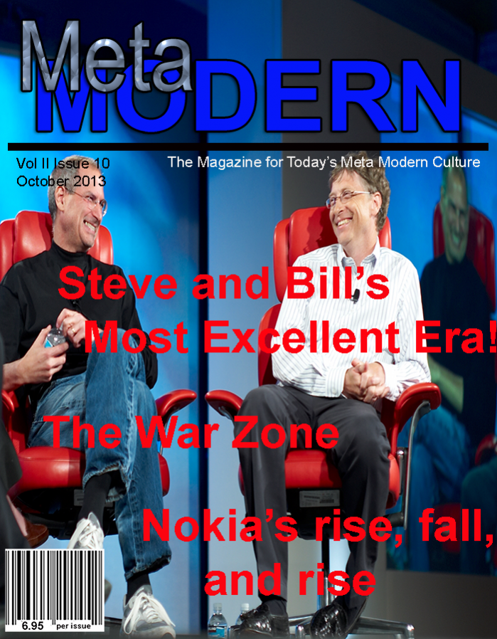 This Month's Edition of Meta Modern Magazine – October 2013