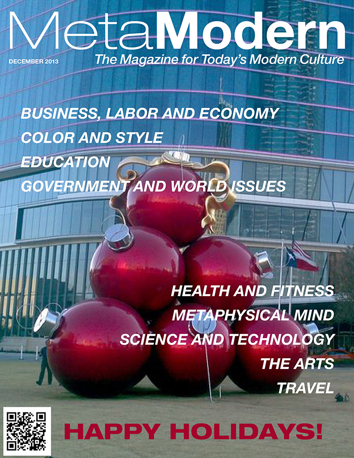 This Month's Edition of Meta Modern Magazine – December 2013