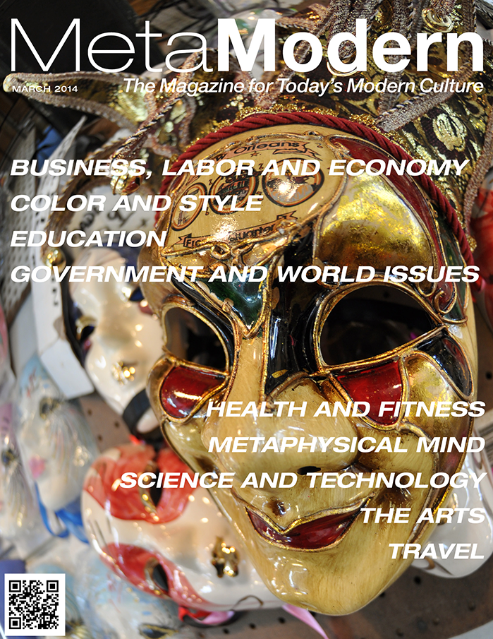 THIS MONTH'S ISSUE OF META MODERN MAGAZINE MARCH 2014