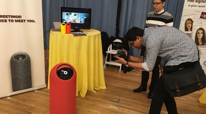 THIS ONE-EYED ROBOT IS YOUR OWN PERSONAL MINION, AND IT MAKES VIDEO CALLS