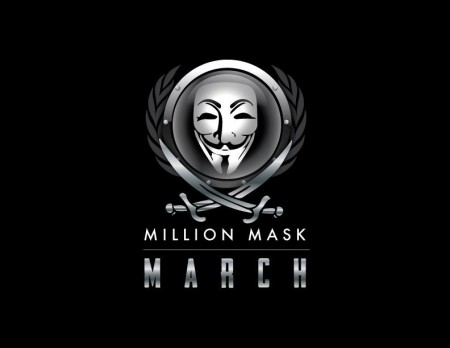 ANONYMOUS' MILLION MASK MARCH 11/5/2014