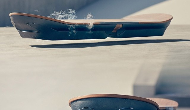 THE HOVERBOARD REALLY DOES EXIST